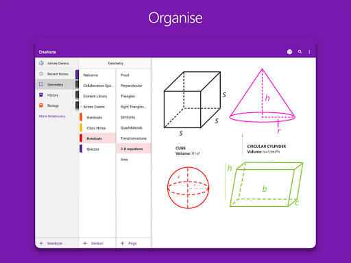 OneNote screenshot 12