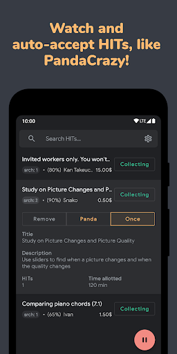 Turkdroid - Mturk Client for Workers 1.4.7 screenshots 3