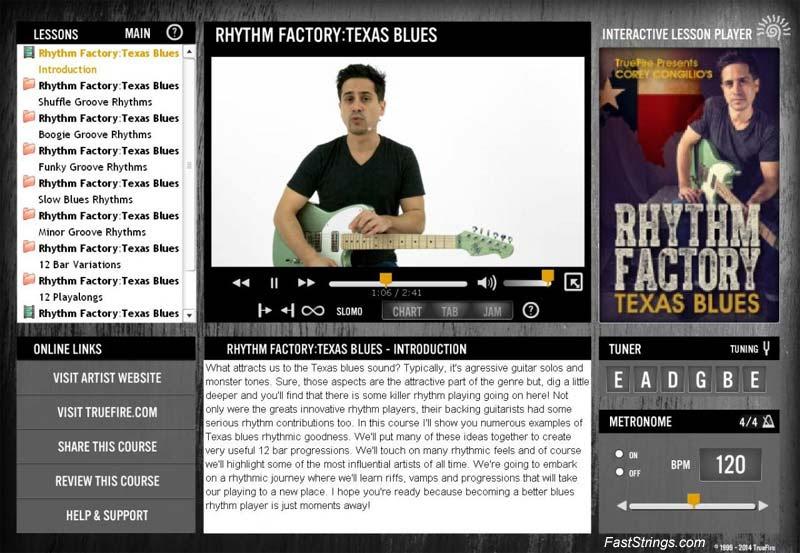 Corey Congilio - Rhythm Factory: Texas Blues