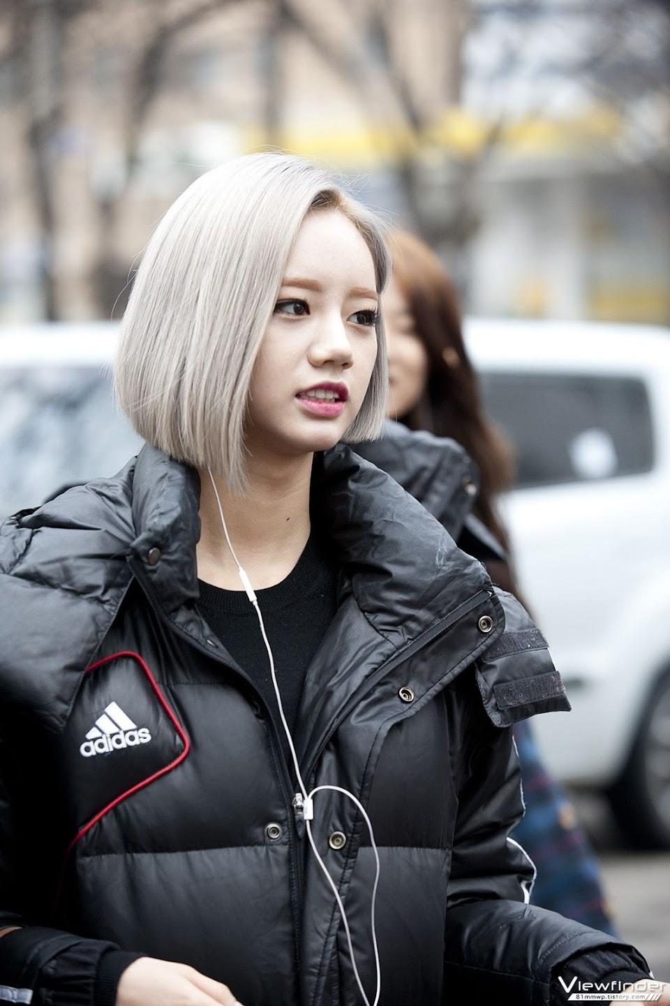 hyeri blonde 2