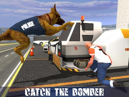 6 Police Dog Airport Crime Chase App screenshot