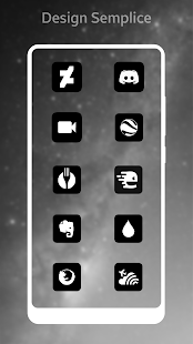 Miui 10 Dark Black AMOLED UI - Icon Pack Screenshot