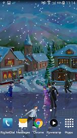 Christmas Rink Live Wallpaper Screenshot 6
