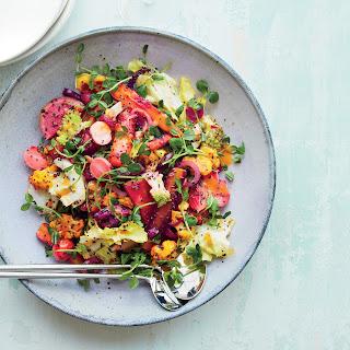 Vegetable Rainbow Salad.