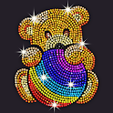 Diamond Coloring - Sequins Art & Paint by Numbers icon