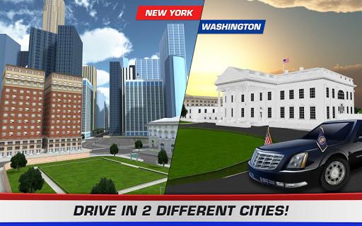 3D Car Driving Simulator - President Donald Trump 1.1 screenshots 3