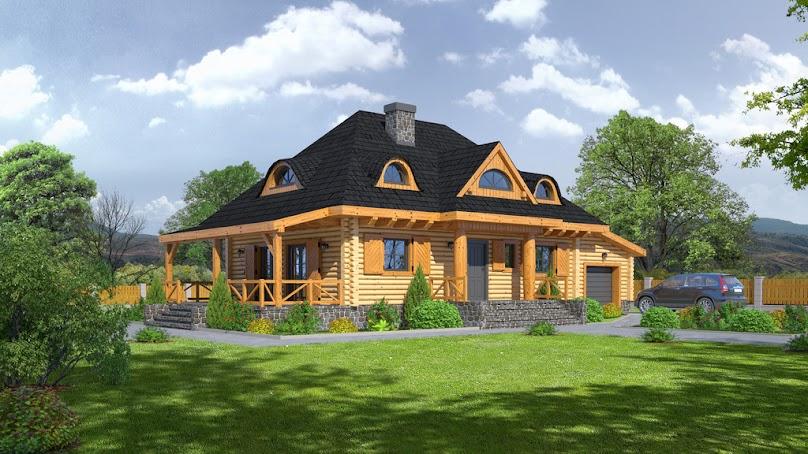 Projekt domu Chmielniki małe dw 27