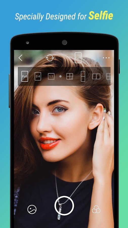 Screenshots of BestMe Selfie Camera for iPhone