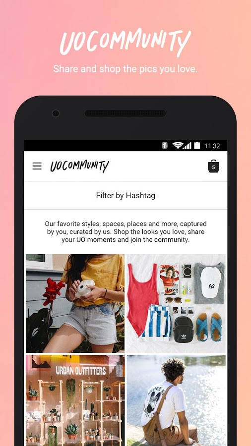 Screenshots of Urban Outfitters for iPhone