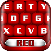 Red Keyboard Theme