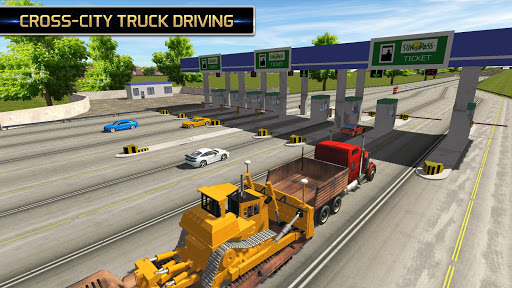 Euro Truck Driving Simulator 2018  screenshots 7