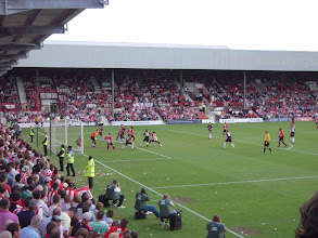 Photo: 02/05/09 v Luton Town (FL2) 2-0 - contributed by Peter Collins