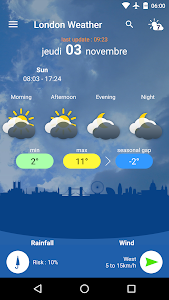 London Weather screenshot 0