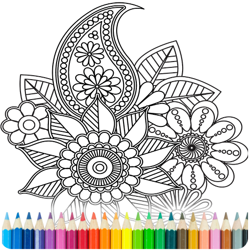 Coloring Book for Adults file APK for Gaming PC/PS3/PS4 Smart TV