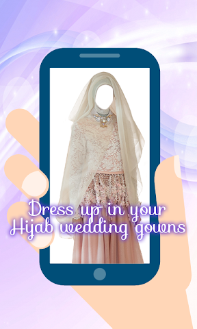 android Hijab Wedding Montage Maker Screenshot 2