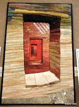 "Photo: #4, Tami Albrecht, ""Pueblo Portal""VOTED FAVORITE ART QUILT"