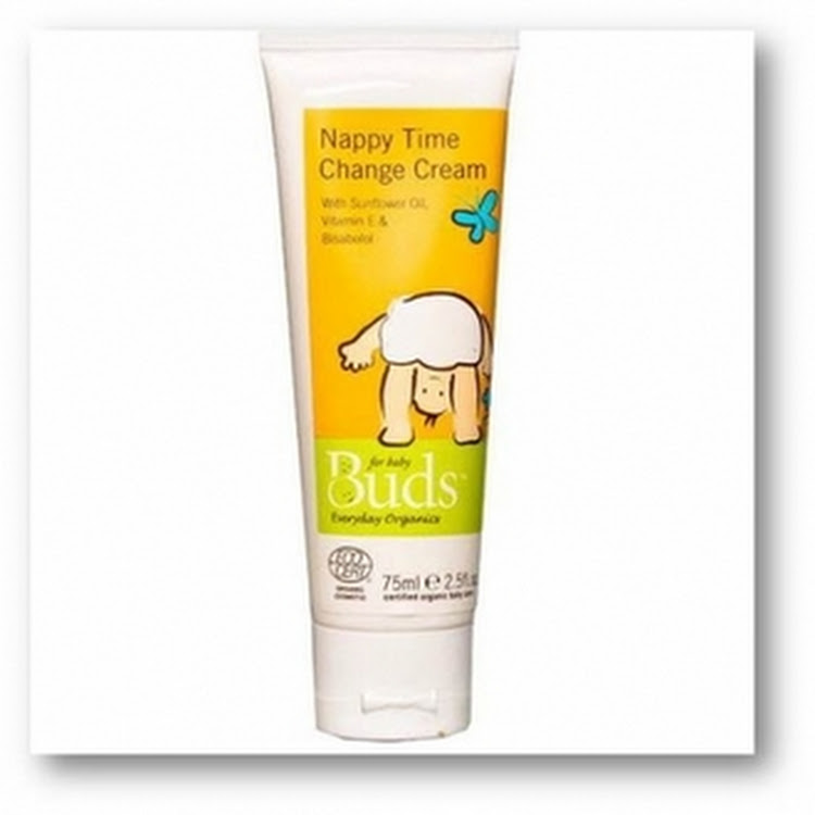 BUDS EVERYDAY ORGANICS Nappy Time Change Cream 75ml by GREEN WHEEL INTERNATIONAL SDN BHD