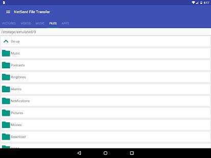 NetSend File Transfer screenshot