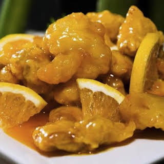 Orange & Ginger Chicken.