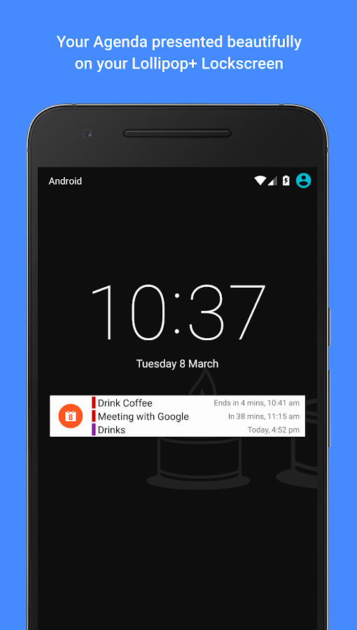 how to add clock widget to android 6 lock screen