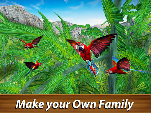 ud83dudc26 Wild Parrot Survival - jungle bird simulator! 1.2.1 screenshots 7