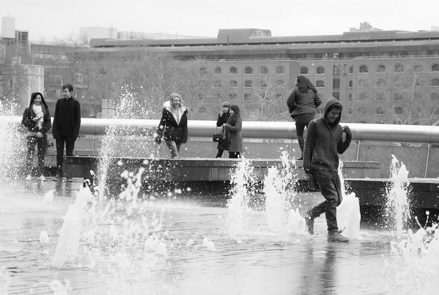 running in the water by Nastja Černoš - People Street & Candids