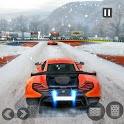 Snow Driving Car Racer Track Simulator icon
