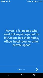 Haven Keep Watch (BETA) - Edward Snowden - náhled