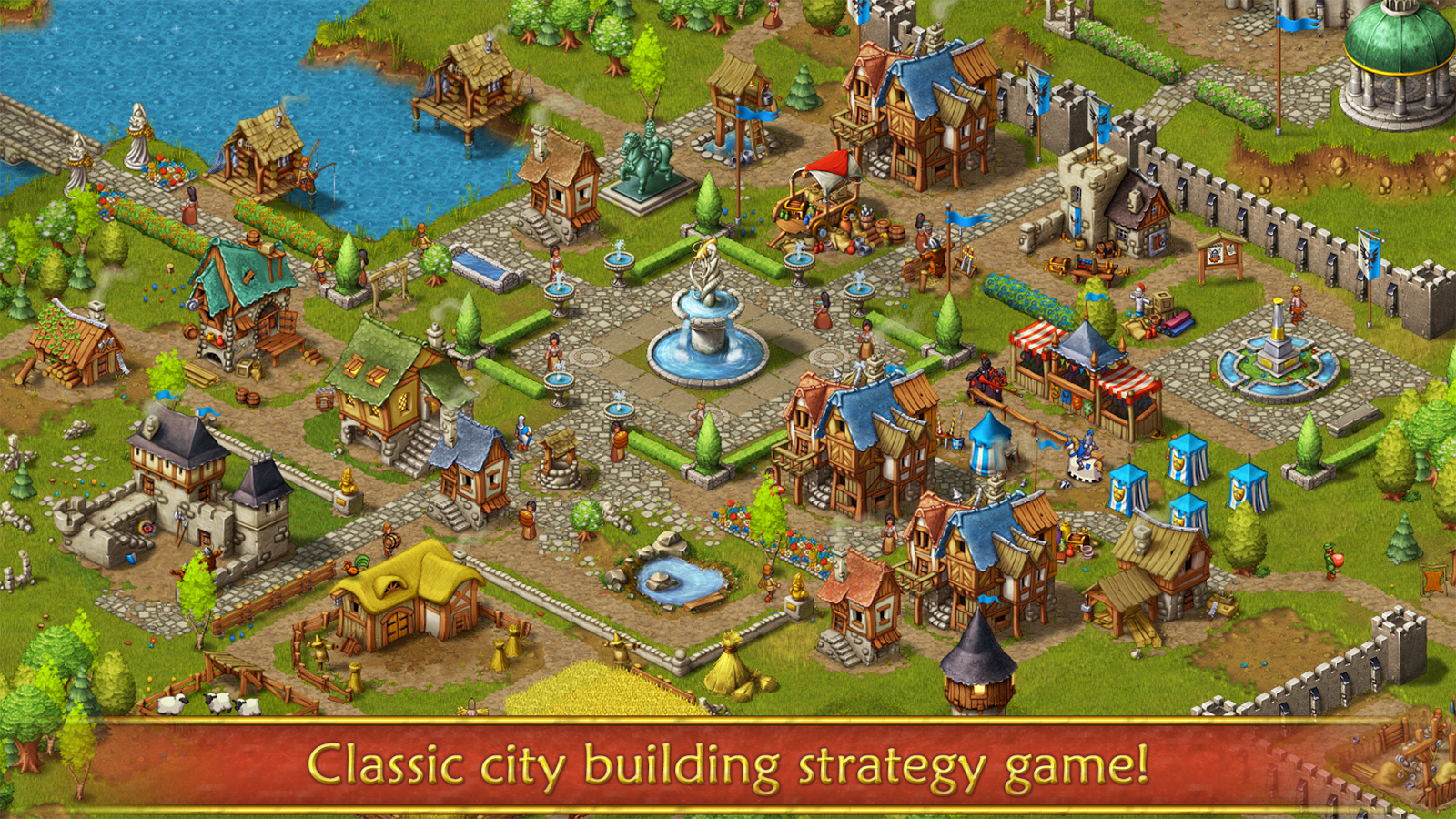 Townsmen android apps on google play for Building builder online