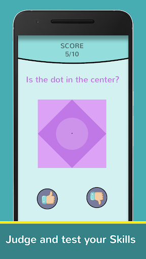 Dot Game : Judge the dot in Shapes