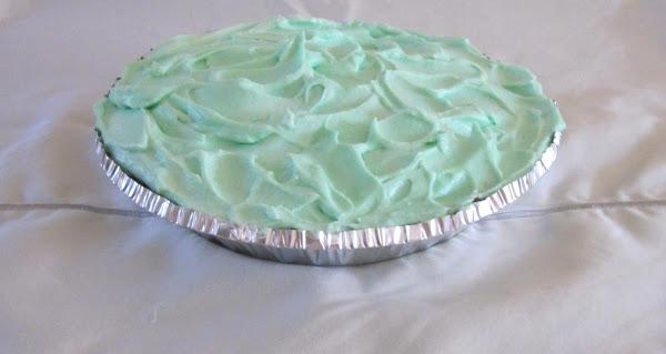 Light As A Cloud Creme De Menthe Pie Recipe