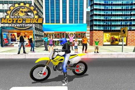 Extrémní Moto kolo dobrodružs - náhled