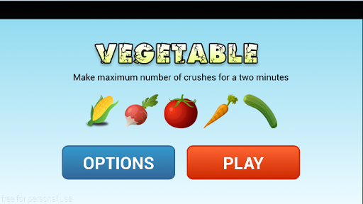Magic Vegetables Game