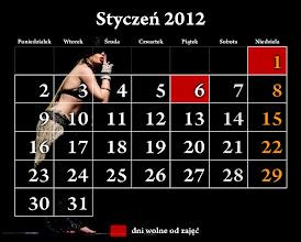 Photo: styczeń 2012 - kalendarz Studio Tańca NTF; na zdjęciu w solowym tańcu wedle własnej choreografii Katarzyna Owczarz z grupy TRIBAL ZESPÓŁ NTF :)