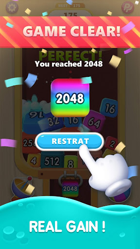 2048 Merge Blocks apktram screenshots 4