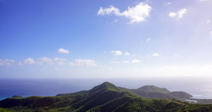 Photo: Edges of the Earth -- Antigua There is something nice about a view with no edges.