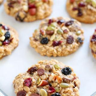 Oatmeal Trail Mix Cookies Recipe