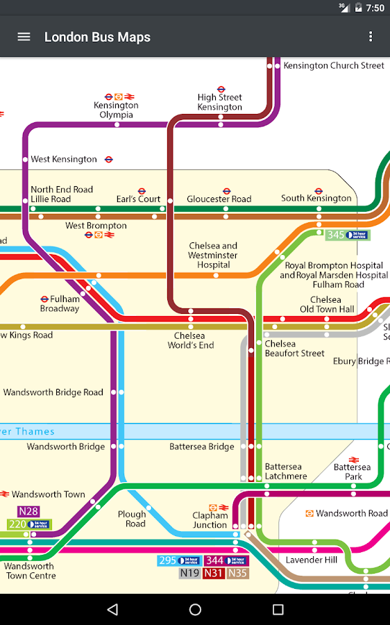London Bus Maps Live Timing Android Apps On Google Play - North east london bus map