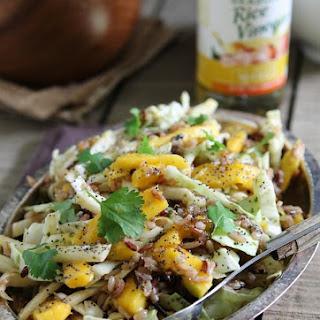 Spicy Cilantro Mango Wild Rice Salad