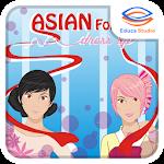 Asian Folk Dress Up Icon