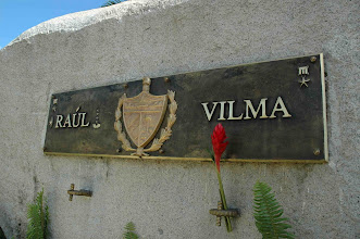 Photo: The site where Vilma Espin is buried and where her husband, Raul Castro, is expected to be buried after he dies. Tracey Eaton photo.