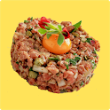 Minced Meat Recipes Offline icon