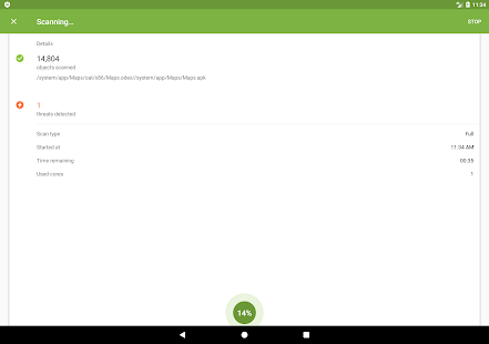 App Anti-virus Dr.Web Light APK for Windows Phone