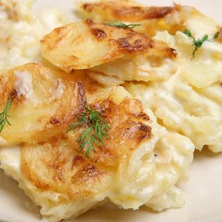 Scalloped Potatoes.