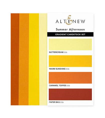 Altenew Gradient Cardstock Set - Summer Afternoon
