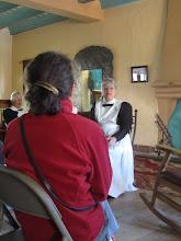 Photo: Harvey Girls' presentation and  tour of La Posada after breakfast
