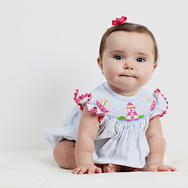 Doll baby by Kristin Cheatwood - Babies & Children Child Portraits ( baby )
