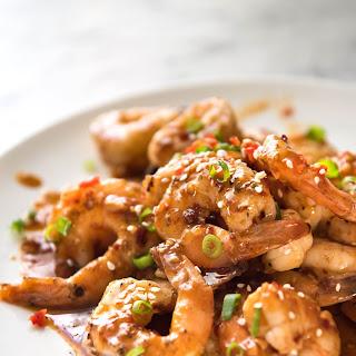 Asian Chilli Garlic Prawns (Shrimp).