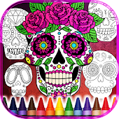 Sugar Skulls Color for Adult
