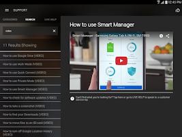 Screenshot of Samsung+